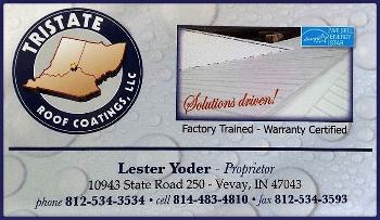 lester yoder license